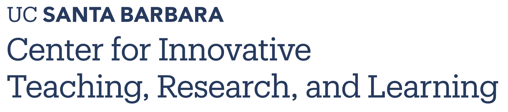 Center for Innovative Teaching Research and Learning - UC Santa Barbara
